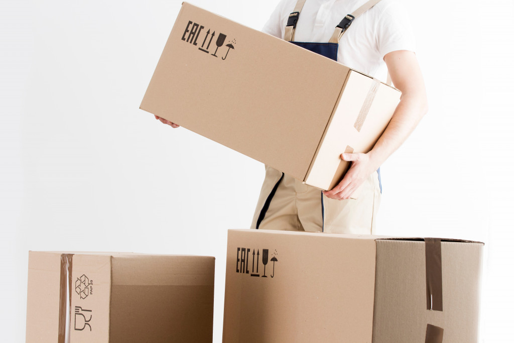 Moving away