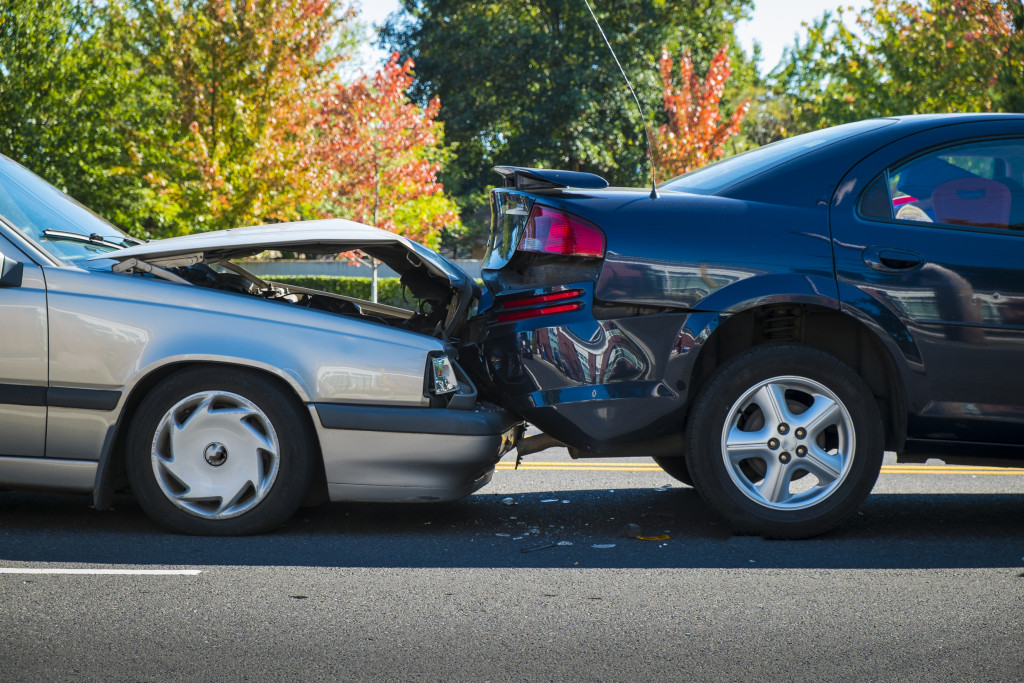a vehicular accident