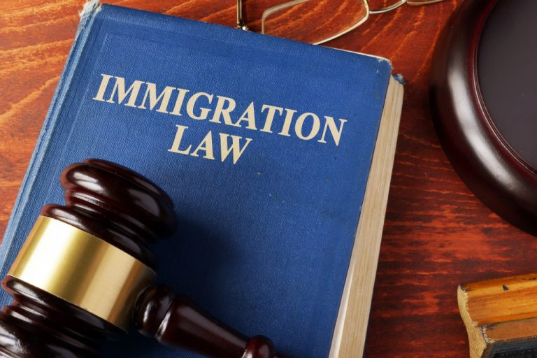 immigration law concept